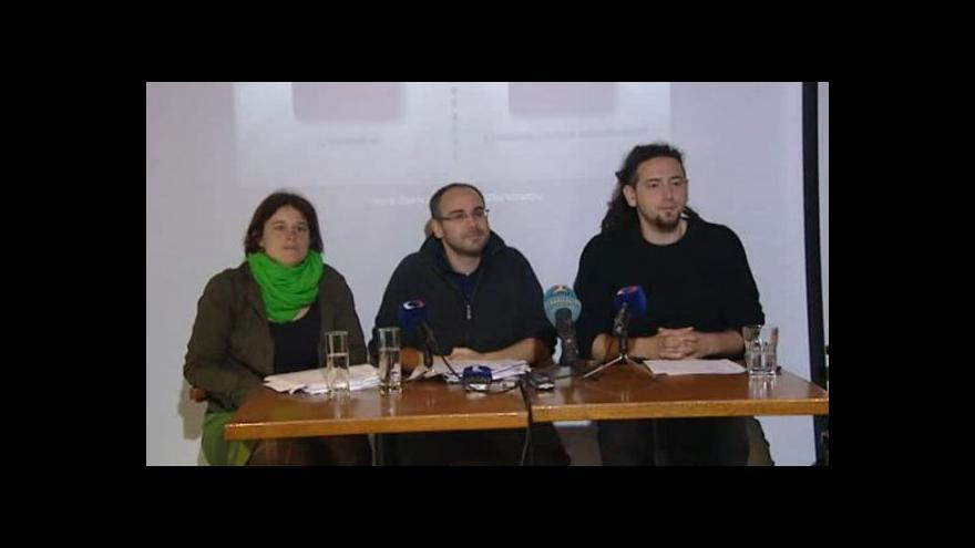 Video Brífink Občanského sdružení Oživení k odhalení nových zjištění v kauze Opencard