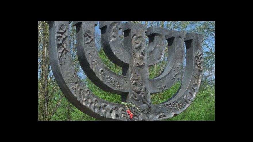 Video Ukrajina vzpomíná na židovské oběti druhé světové války