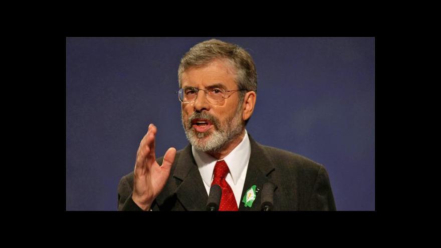 Video Severoirský republikánský předák Adams byl propuštěn z vazby