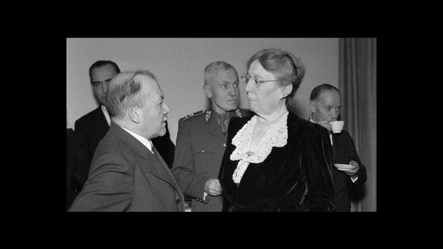 Video 135 let od narození Alice Masarykové