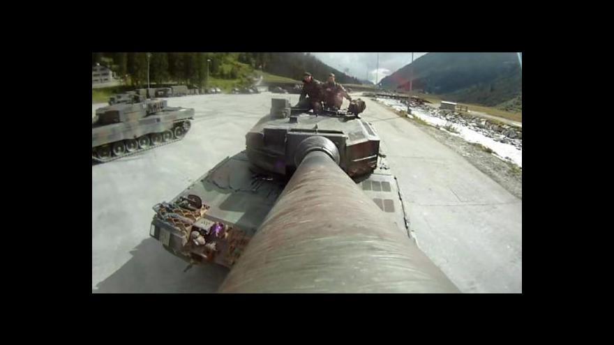 Video Německá vláda zablokovala vývoz tanků do Saúdské Arábie