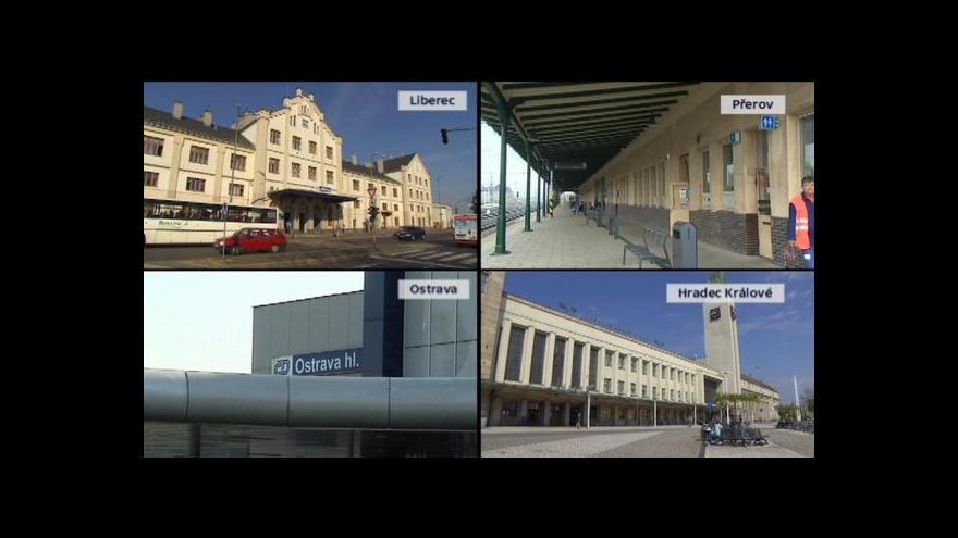 Video Ministerstvo dopravy chystá odkoupení nádraží