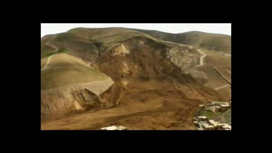 Video Afghánistán: Přes 2 000 obětí zemní laviny