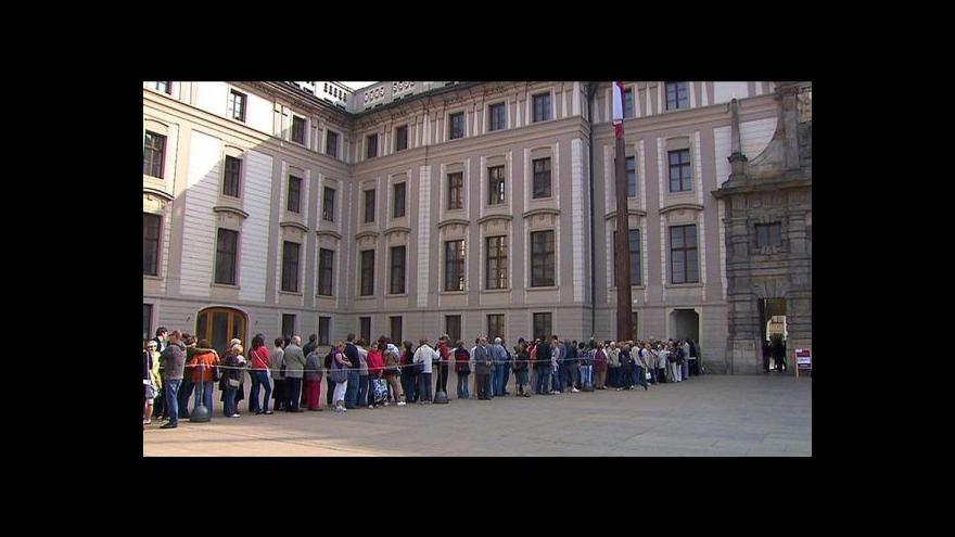 Video František Kadlec ze správy Hradu představuje zítřejší otevřený den