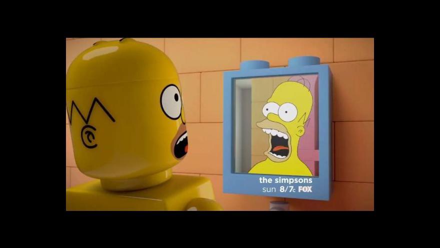 """Video Simpsonovi se stěhují """"do Dánska"""" – aspoň v jednom díle"""