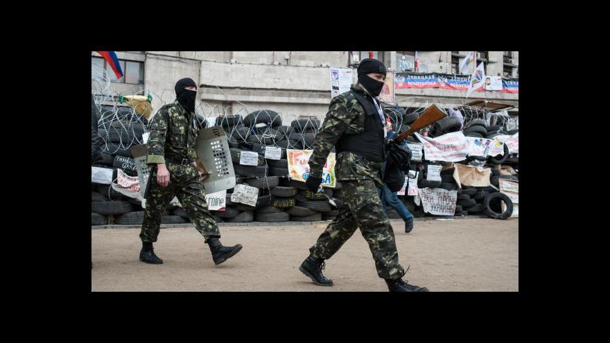 Video Události: Kyjev spustil akci proti separatistům ve Slavjansku