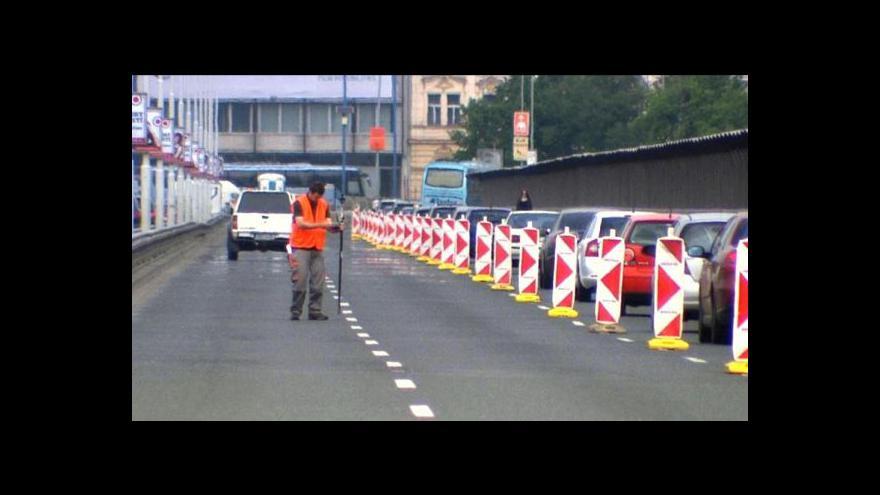 Video Začala rekonstrukce Nuselského mostu