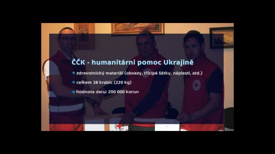 Video Smejkal z Červeného kříže: Na Ukrajině podražily léky