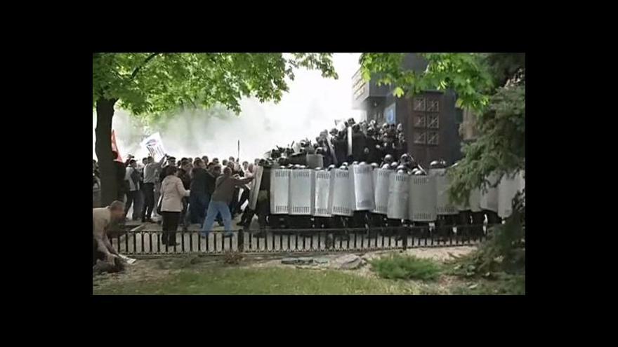 Video Ukrajina obnovila brannou povinnost