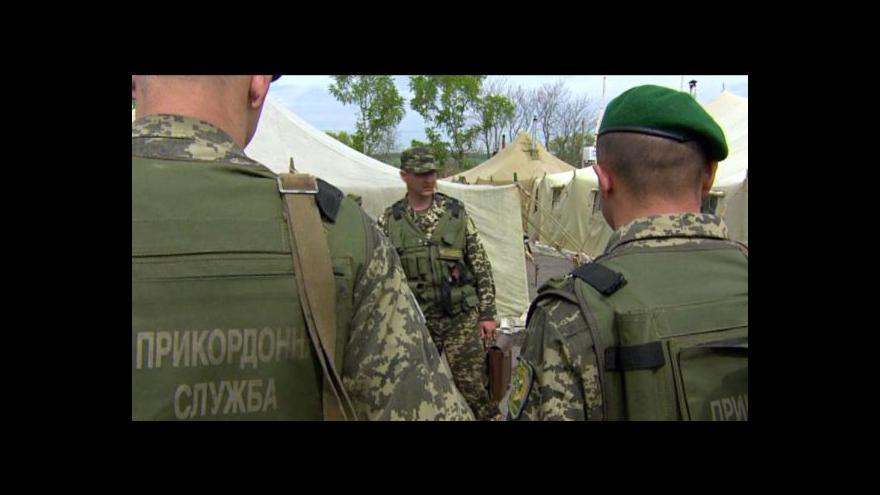Video Ukrajinci by mohli hlasovat o prezidentovi a celistvosti země