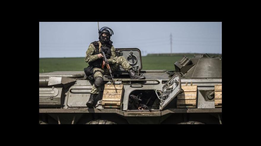 Video Události: Ukrajinská armáda je v plné bojové pohotovosti