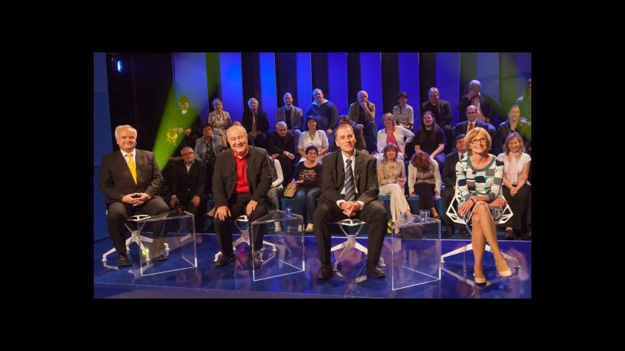 Video Lídři eurokandidátek diskutují o nezaměstnanosti