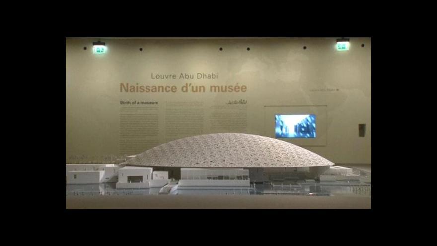 Video Louvre otevře pobočku v Abú Dhabí