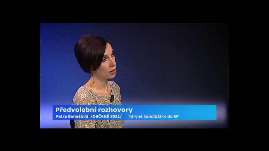 Video Benešová: EU musí vůči Rusku zaujmout jednotný postoj