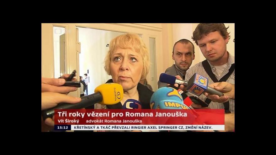 Video Státní zástupkyně: Janoušek měl být obviněn z pokusu o vraždu
