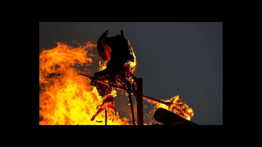Video Pálení čarodějnic: Pozor na požáry!