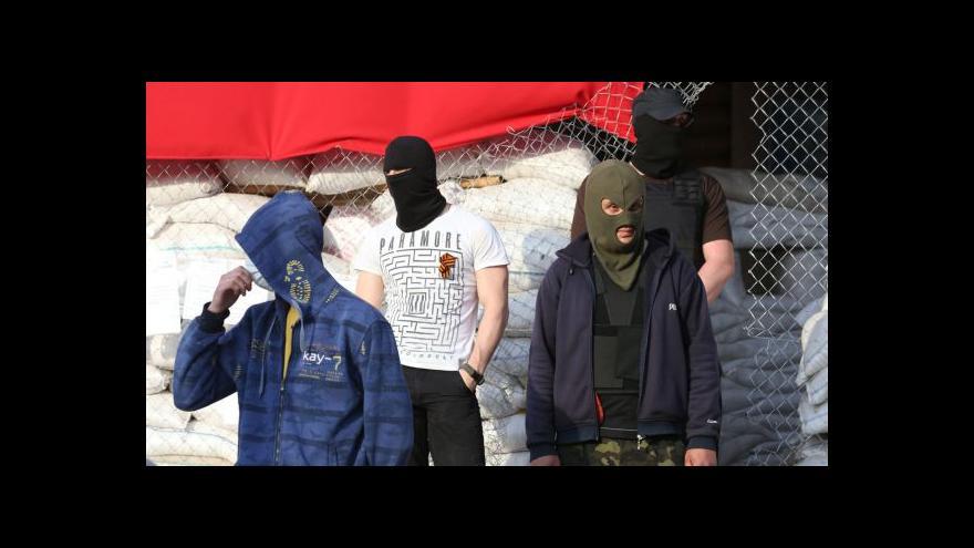 Video Separatisté žádají odvolání sankcí, jinak kontrolory nepustí