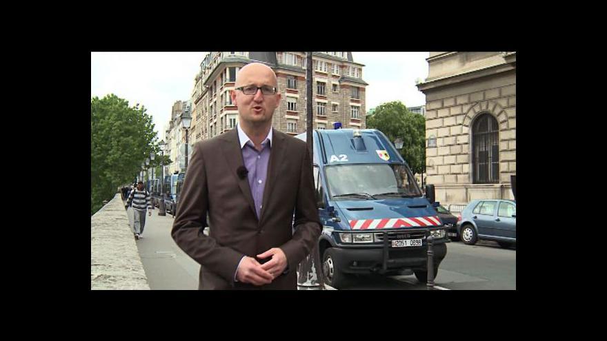 Video Petr Zavadil o skandálu francouzské policie
