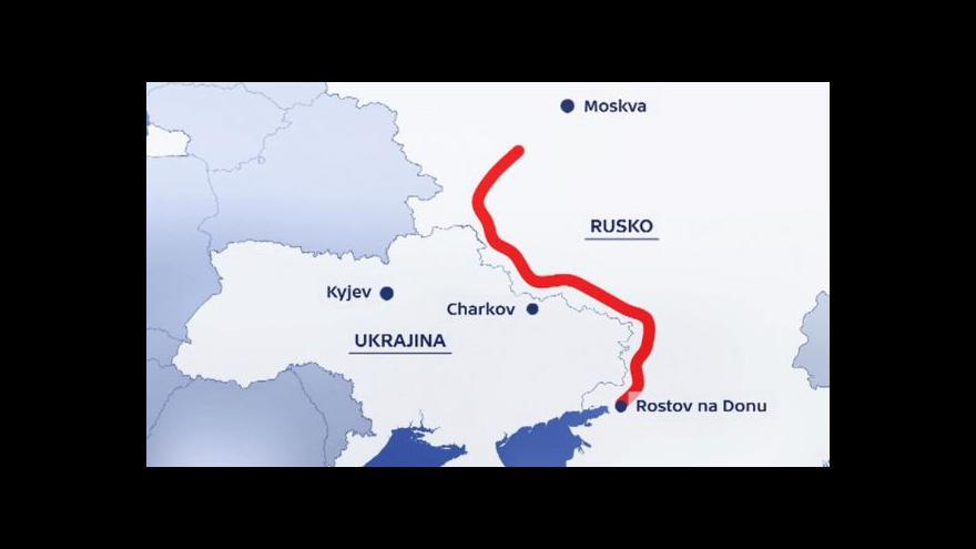 Video Pozorovatelé nad rusko-ukrajinskou hranicí nalétali 5 000 km