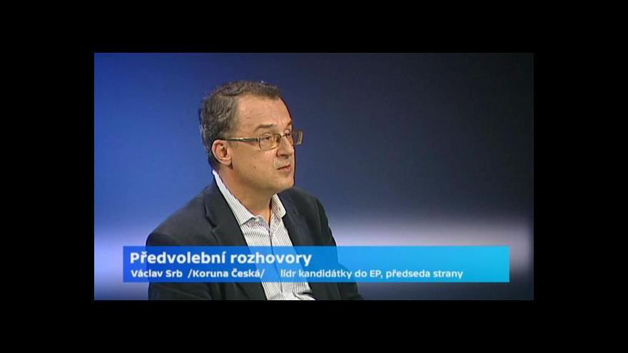 Video Rozhovor s předsedou Koruny České Václavem Srbem