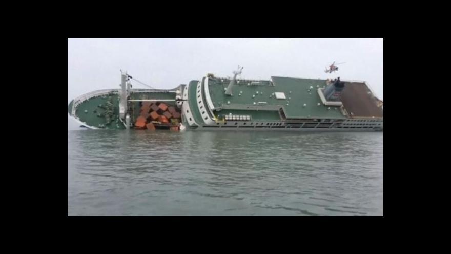 Video NO COMMENT: Na jihokorejském trajektu pokračují záchranné práce