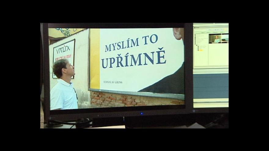 Video Stanislav Gross se omlouvá veřejnosti