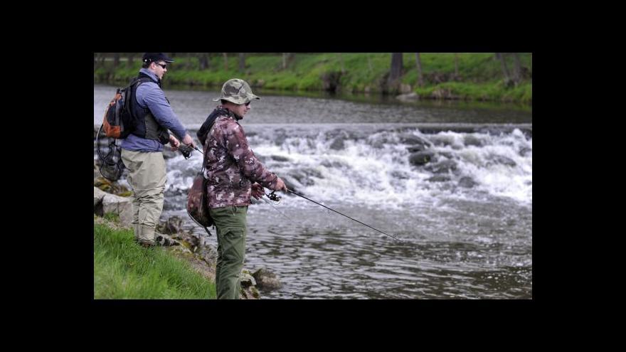 Video Čechy zase láká rybaření