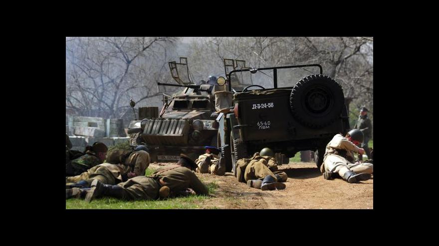 Video No comment: Bitva u Ořechova na konci 2. světové války