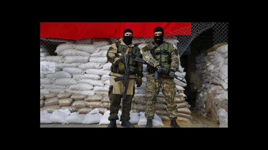 Video Události: Čech na Ukrajině jako válečný zajatec