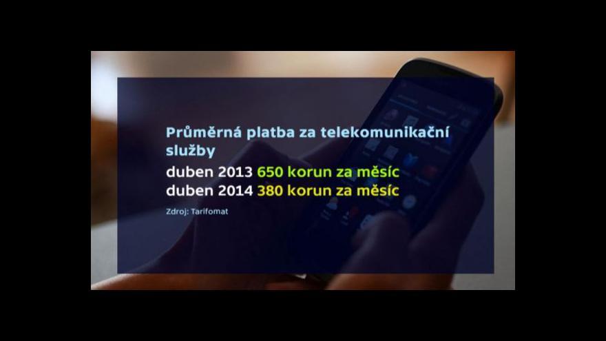 Video Ekonomika ČT24: Rok neomezeného volání