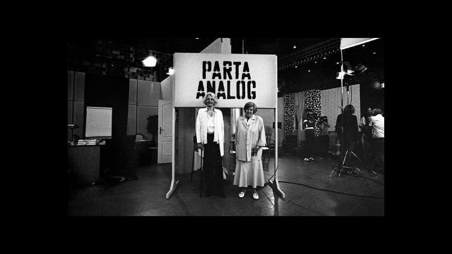 Video UKÁZKA: Parta Analog - práce a režim