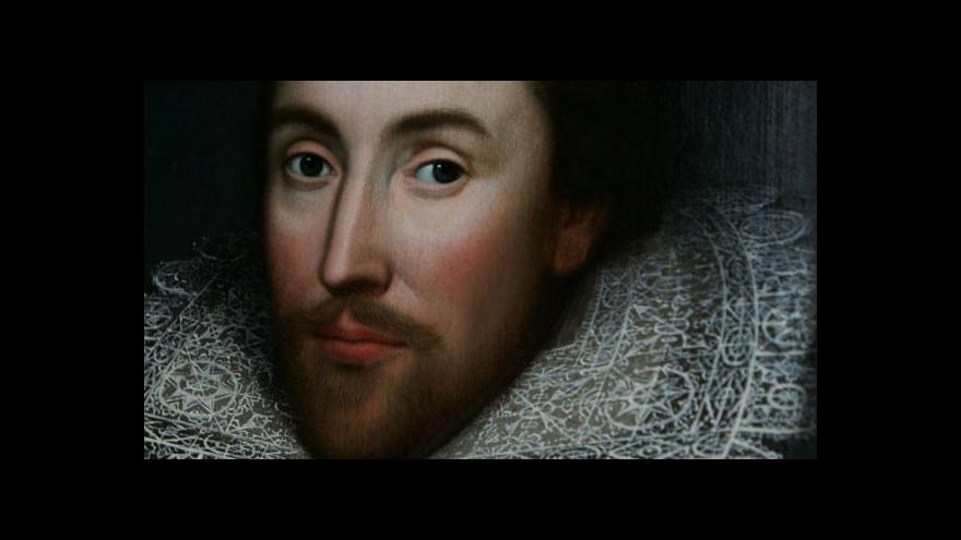 Video 450 let od narození Williama Shakespeara