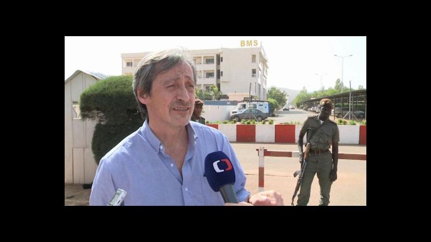Video Ministr obrany Martin Stropnický navštívil Mali