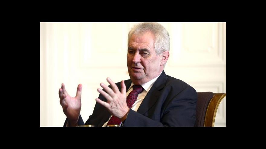 Video Zeman: Česko by mohlo být prostředníkem mezi Ruskem a Ukrajinou