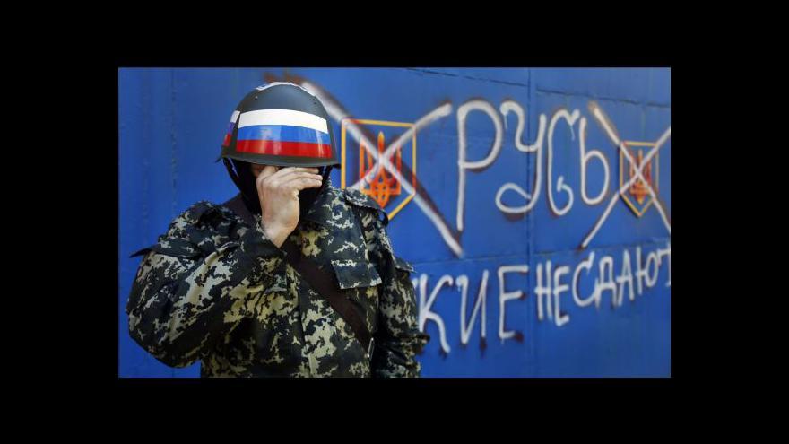 Video Přestřelka v Kramatorsku se obešla bez obětí