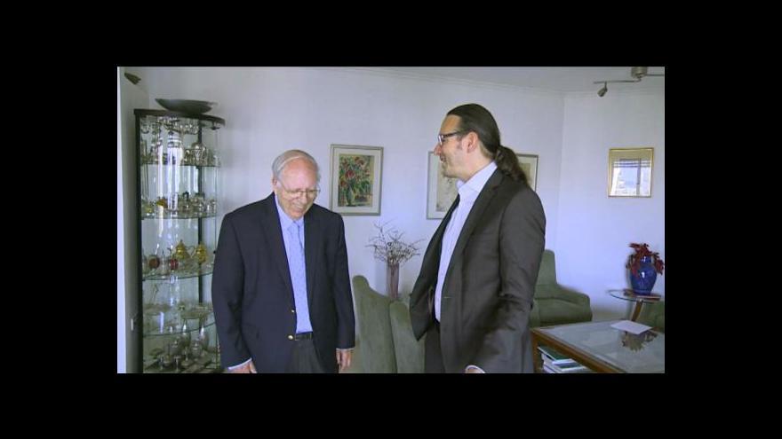 Video Bývalý šéf Mossadu pro ČT: Jsme uprostřed globálního konfliktu