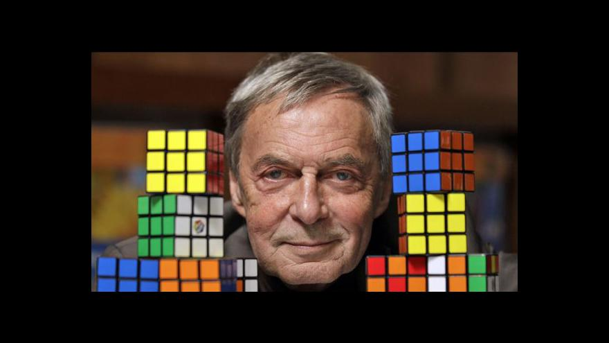 Video Rubikova kostka slaví 40 let