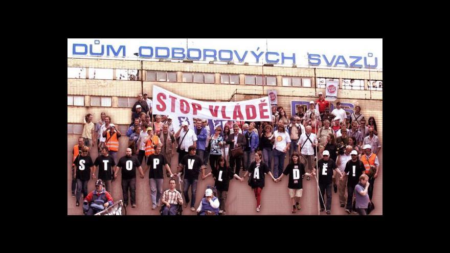 Video Středula věří v podporu napříč odborovými organizacemi