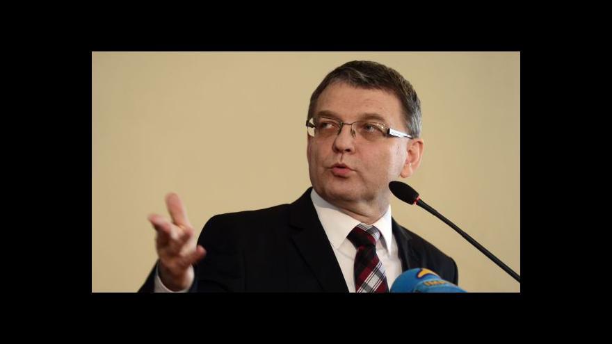 Video Ministr zahraničí Lubomír Zaorálek se chystá do Číny