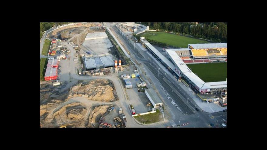 Video Pohled do rozestavěného tunelu Blanka