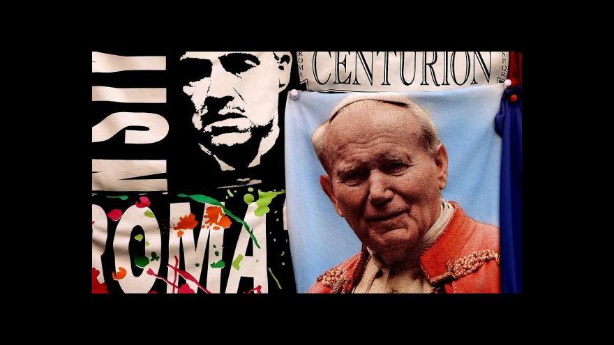 Video Karol Wojtyla hrdinou muzikálu