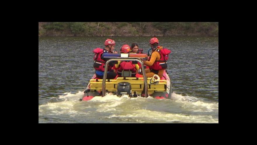 Video Vodní záchranná služba: Na provoz přispívají i sami záchranáři-dobrovolníci