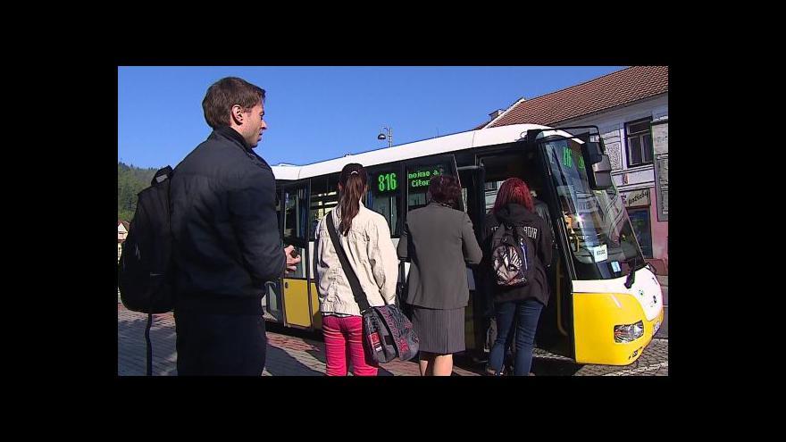 Video No comment: Redaktor ČT otestoval krajskou dopravu