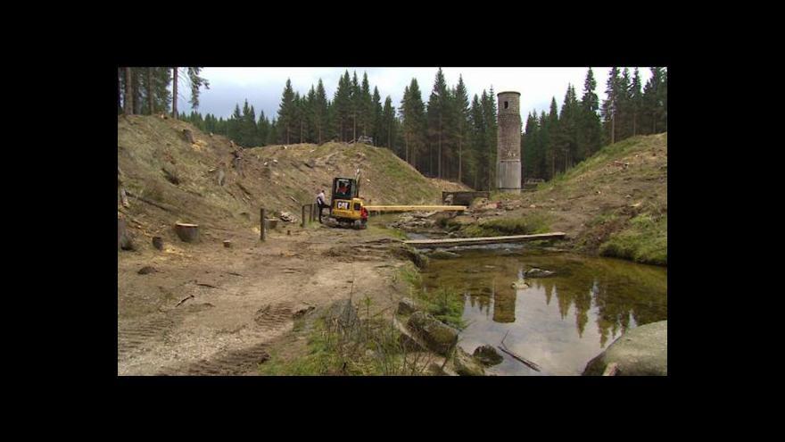 Video Protržená přehrada jako turistický cíl