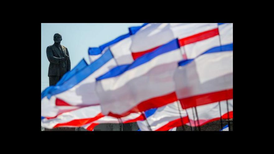 Video Horizont ČT24: Kolik stojí Rusko Ukrajina?