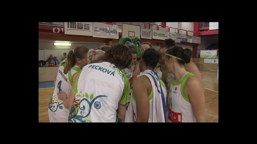 Video Sestřih a ohlasy ze 3. semifinále basketbalistek IMOS Brno - Valosun Brno