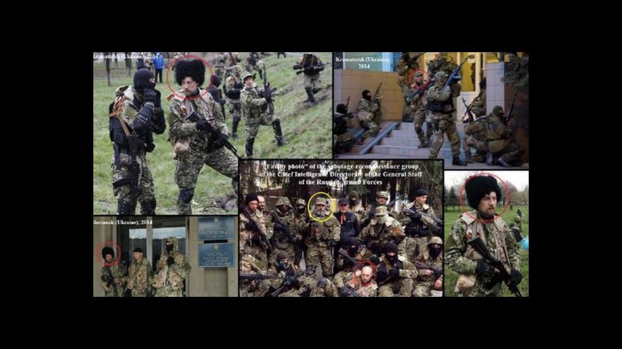 Video USA mají fotky jako důkaz: Ruští vojáci na Ukrajině