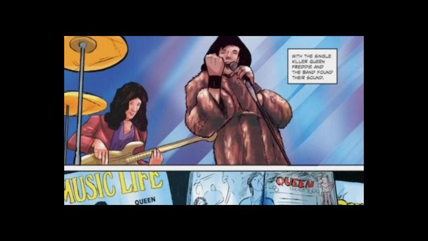 Video Nový komiks oslavuje Freddieho Mercuryho