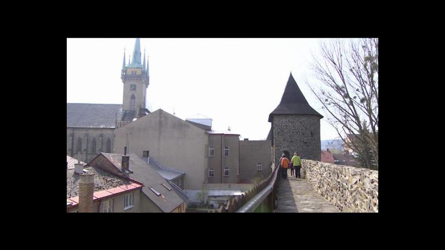 Video V Poličce se otevřela další část historického opevnění