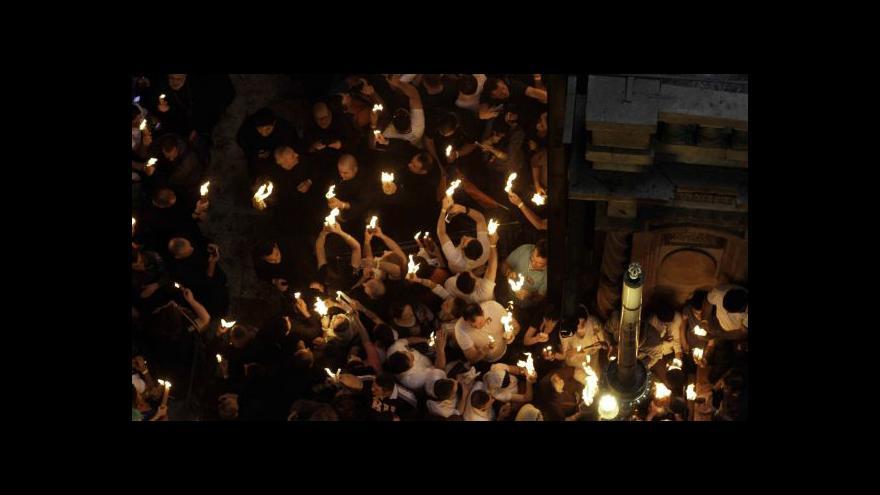 Video Velikonoce ve Svatém městě